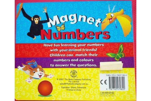 magnet numbers back