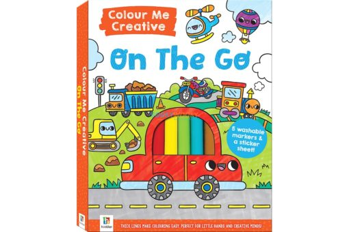 on the go colour me creative cover