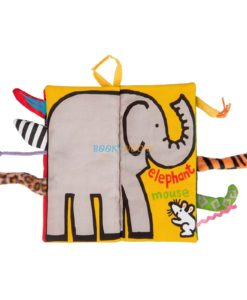 Animal Tails Cloth Book - Jungly Tails Cloth Book 1