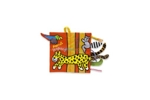 Animal Tails Cloth Book - Jungly Tails Cloth Book 3