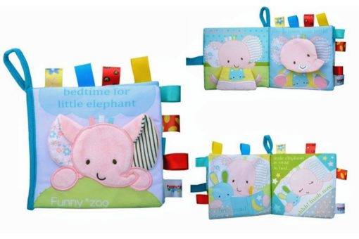 Bedtime for Little Elephant Cloth Book 1
