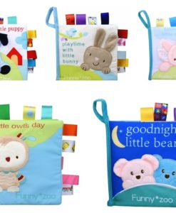Bedtime for Little Elephant Cloth Book mix