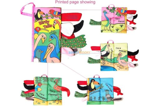 Birdy Tails Cloth Book- 4 titles (2)