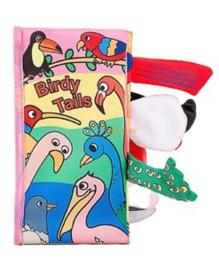 Birdy Tails Cloth Book- 4 titles cover new