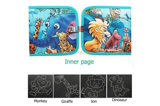 Chalkboard book - Animals (2)