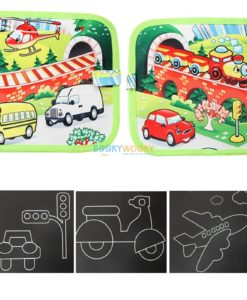 Chalkboard book - Vehicles (2)