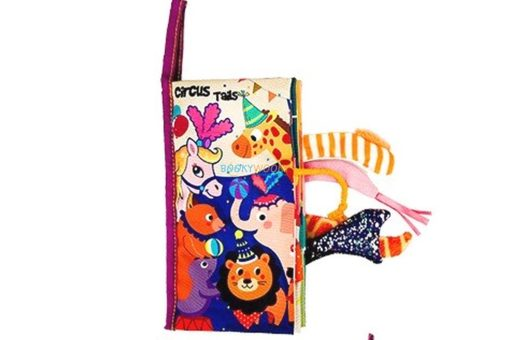 Circus Tails Cloth Book- 4 titles cover