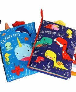 Dinosaur Fun Cloth Book (1)