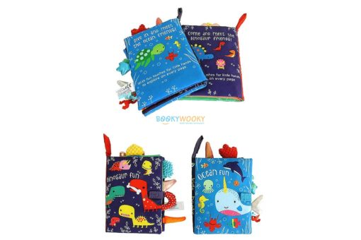 Dinosaur Fun Cloth Book (2)