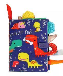 Dinosaur Fun Cloth Book cover