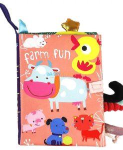 Farm Fun Cloth Book cover