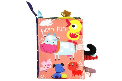 Farm Fun Cloth Book cover