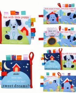 Fun with Little Puppy Cloth Book 1