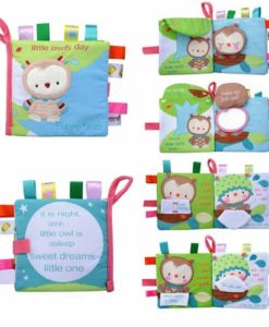 Little Owls day Cloth Book 1