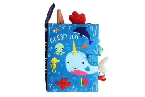Ocean Fun Cloth Book cover