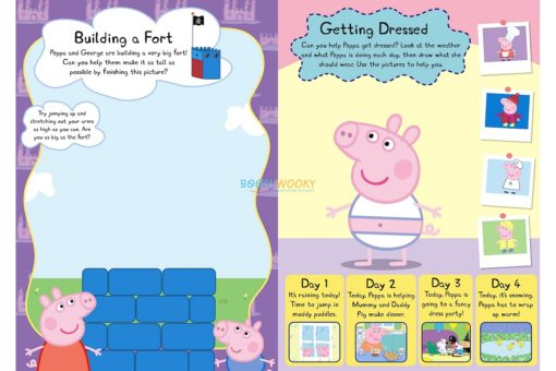 PEPPA PIG PEPPA AND GEORGES WIPE - CLEAN ACTIVITY BOOK 1