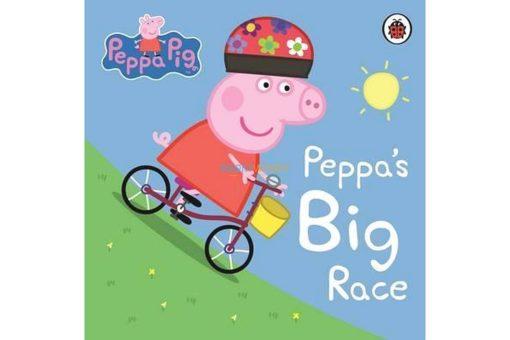 PEPPA PIG PEPPAS BIG RACE 9780723288589 cover
