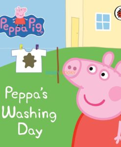 PEPPA PIG PEPPAS WASHING DAY 9781409304845 cover