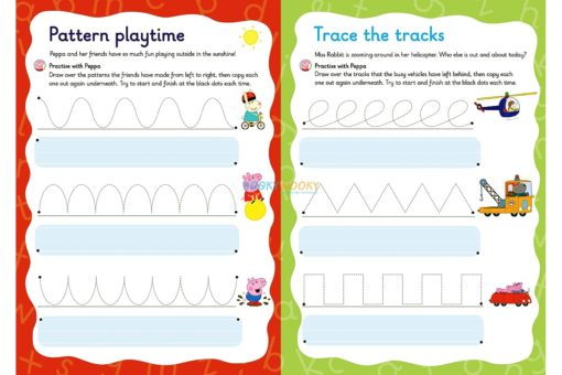 Peppa Pig Practise with Peppa Wipe-Clean First Writing 1