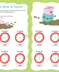 Peppa Pig Practise with Peppa Wipe-Clean Telling the Time 1