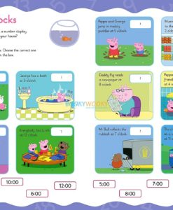 Peppa Pig Practise with Peppa Wipe-Clean Telling the Time 2