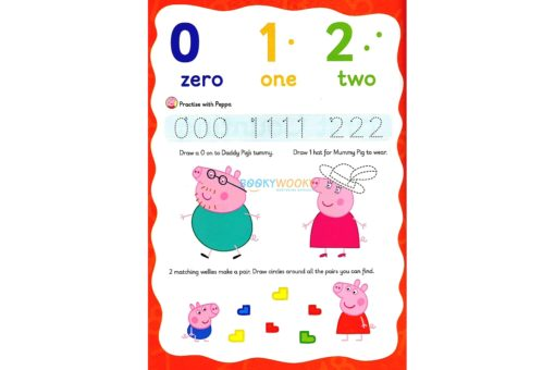 Peppa Pig Wipe-Clean Counting