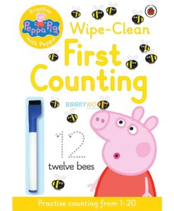 Peppa Pig Wipe-Clean Counting 9780723297765 cover