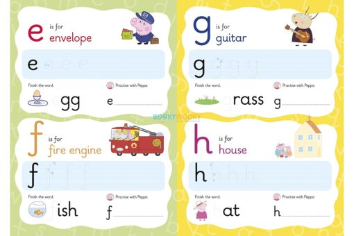 Peppa Pig Wipe-Clean First Letters 2