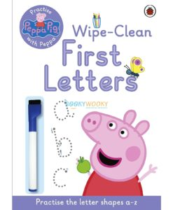 Peppa Pig Wipe-Clean First Letters 9780723292081 cover