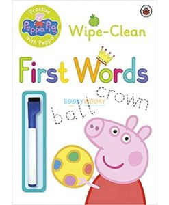 Peppa Pig Wipe-Clean First Words 9780723297789 Cover
