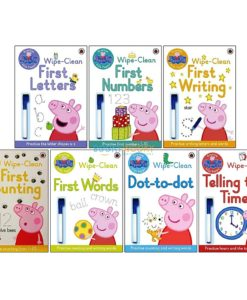 Peppa Pig Wipe-Clean First Words mix