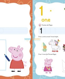 Peppa Pig Wipe-clean numbers 1