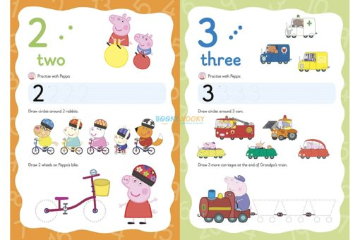 Peppa Pig Wipe-clean numbers 2