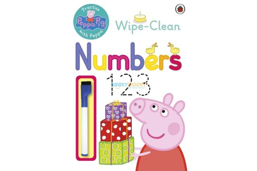 Peppa Pig Wipe-clean numbers 9780723292111 cover