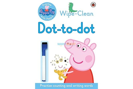 Peppa Wipe-clean Dot-to-Dot 9780241294659 cover