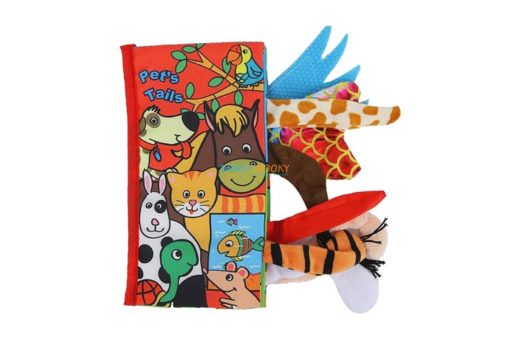 Pet Tails Cloth Book-Animal Tails Cloth Book cover
