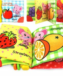 Rattle Book - Learning with Fruits (3)