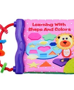 Rattle Book - Learning with Shapes and Colours (1)