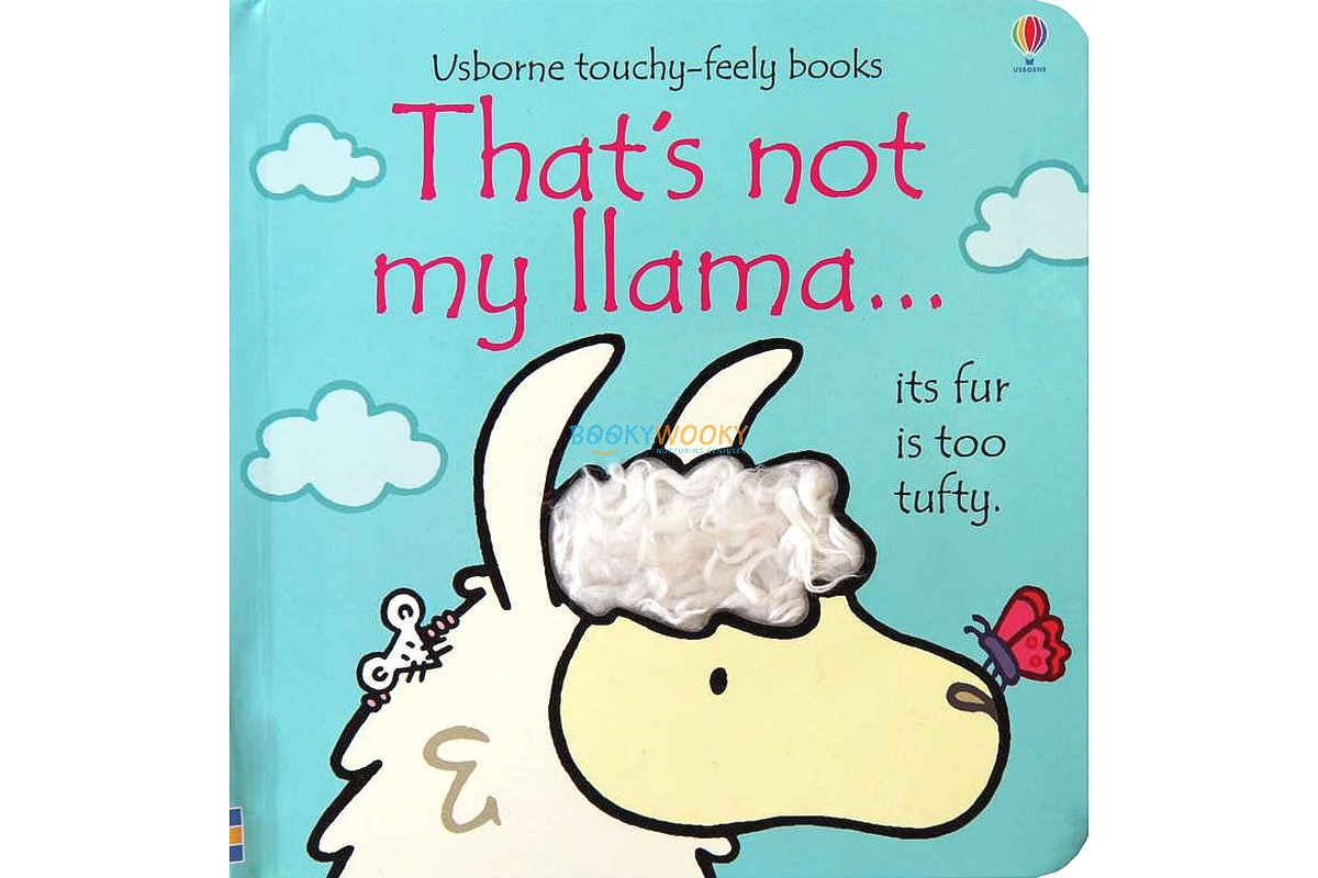 That's Not My Llama 9781474921640 cover