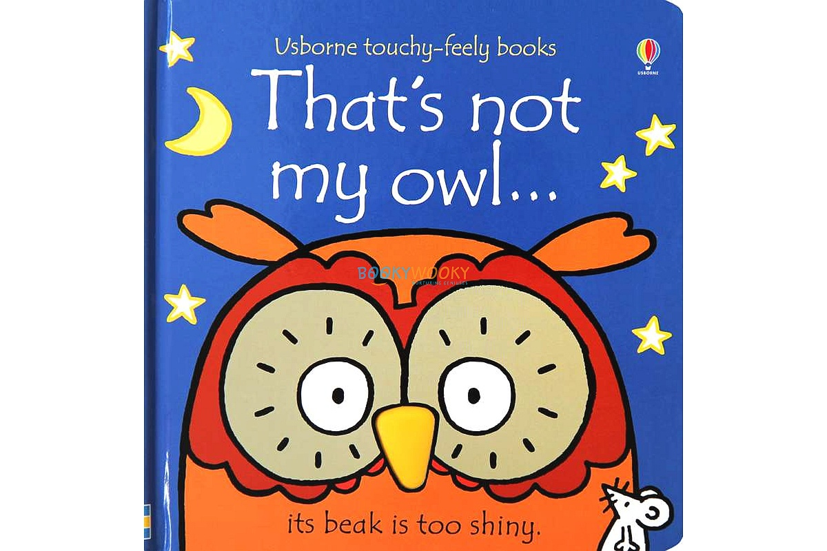 That's Not My Owl 9781409587583 cover