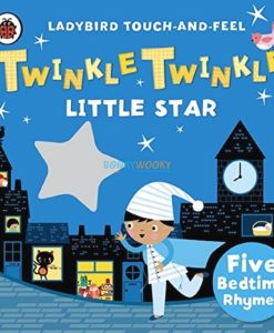 Twinkle, Twinkle Little Star Ladybird Touch and Feel Rhymes 9780241196182 cover
