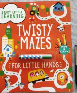 Twisty Mazes for Little Hands Wipe Clean (2)