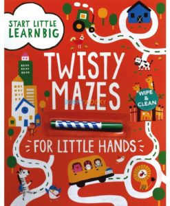 Twisty Mazes for Little Hands Wipe Clean 9781474814423 (1)