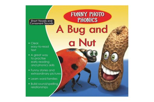 A Bug and a Nut- Funny Photo Phonics 9789350493267 cover
