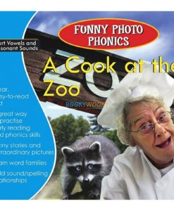 A Cook at the Zoo- Funny Photo Phonics 9789350493311 cover