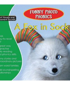 A Fox in Socks- Funny Photo Phonics 9789350493236 cover