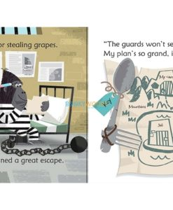 Ape's Great Escape- Usborne Phonics Readers 1