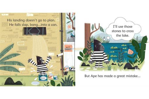 Ape's Great Escape- Usborne Phonics Readers 2