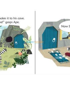 Ape's Great Escape- Usborne Phonics Readers 3