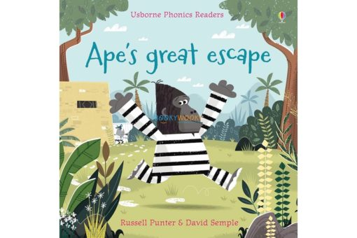 Ape's Great Escape- Usborne Phonics Readers 9781474922111 cover
